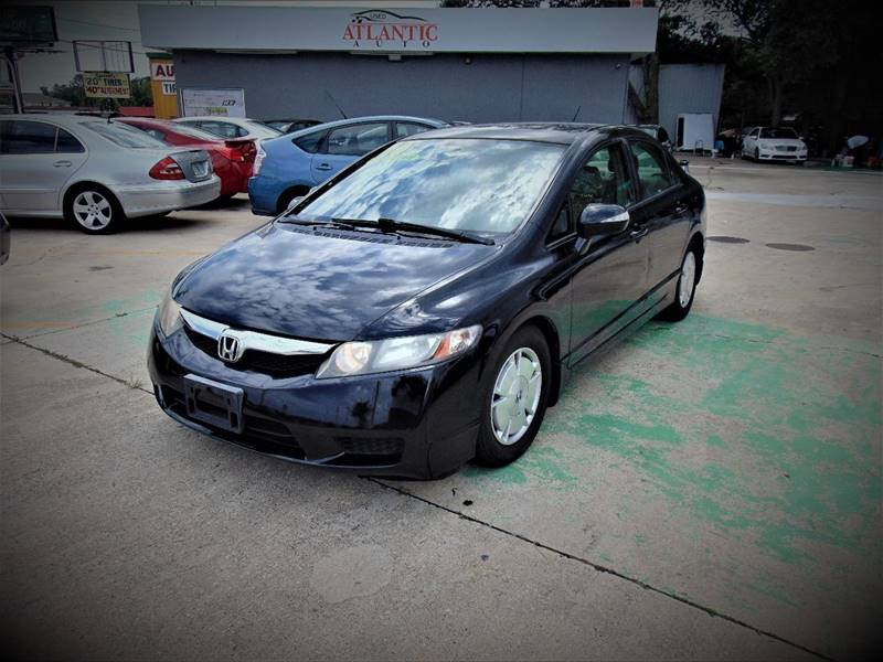 2010 Honda Civic For Sale At Atlantic Auto In Jacksonville FL