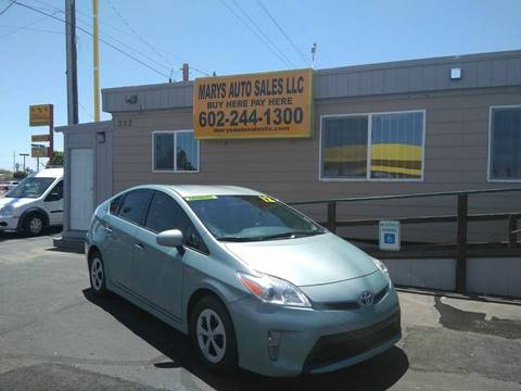 2012 Toyota Prius for sale at Marys Auto Sales in Phoenix AZ