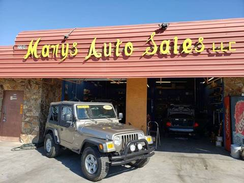 Used 2004 Jeep Wrangler For Sale in Phoenix, AZ ...