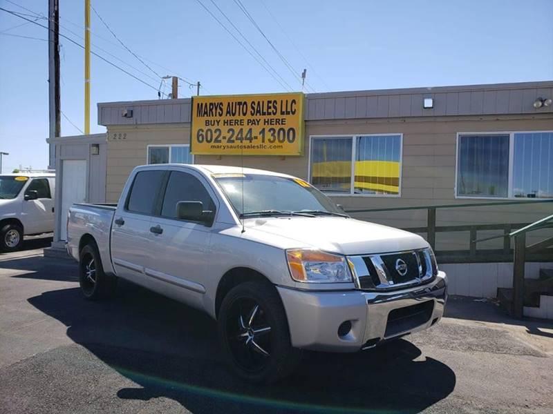 2012 Nissan Titan for sale at Marys Auto Sales in Phoenix AZ