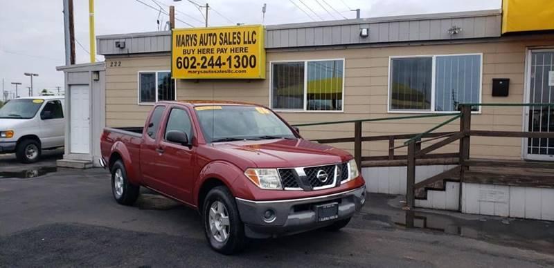 2006 Nissan Frontier LE 4dr King Cab SB   Phoenix AZ