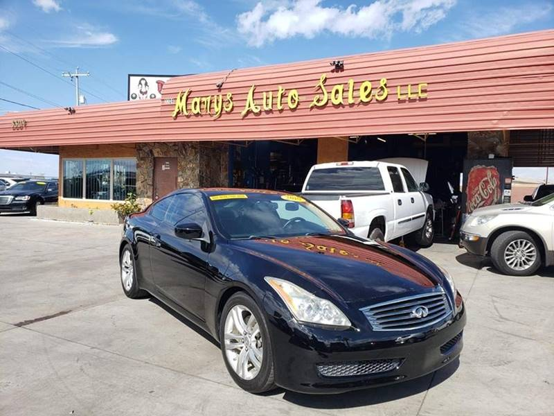 2010 infiniti g37 coupe anniversary edition 2dr coupe in phoenix az marys auto sales. Black Bedroom Furniture Sets. Home Design Ideas