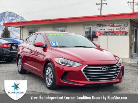 2017 Hyundai Elantra for sale at Torres Automotive Group in Orem UT