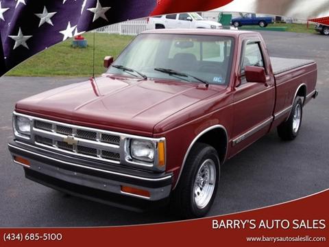 1993 Chevrolet S-10 for sale in Danville, VA