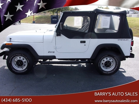1993 Jeep Wrangler for sale in Danville, VA