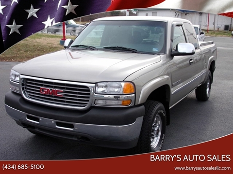 2001 GMC Sierra 2500HD for sale in Danville, VA