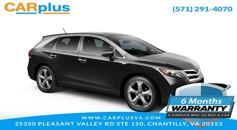 2015 Toyota Venza for sale in Chantilly, VA