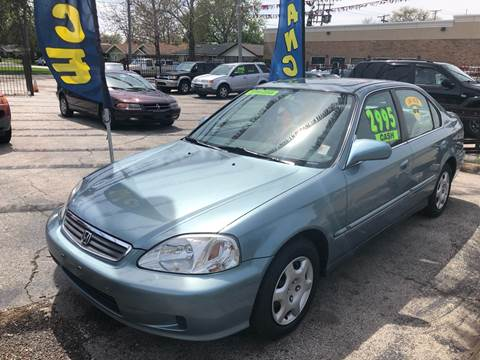 1999 Honda Civic for sale in Dolton, IL