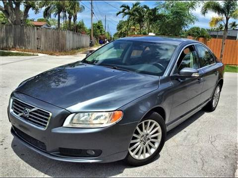 2008 Volvo S80 for sale at LESS PRICE AUTO BROKER in Hollywood FL