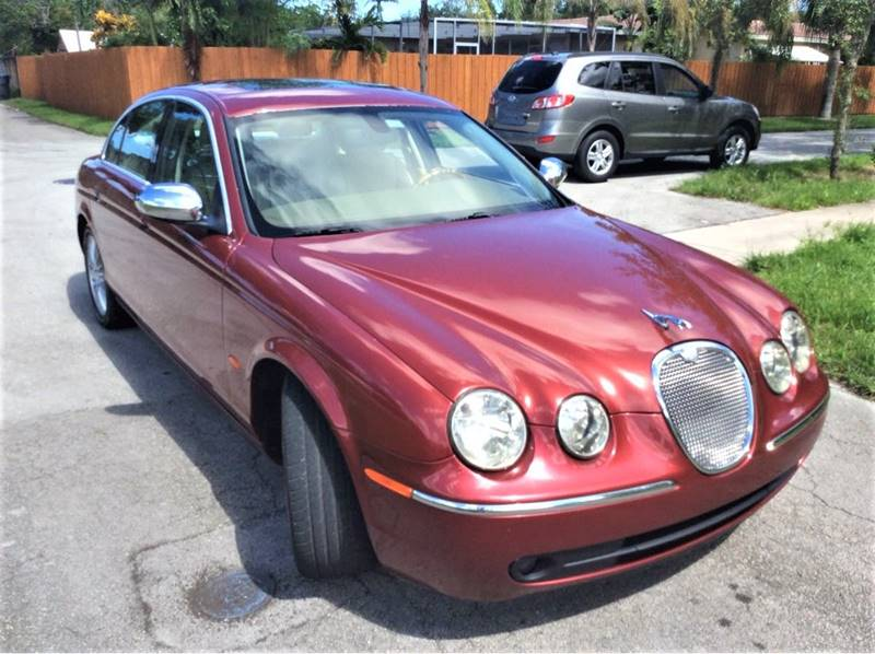 2007 Jaguar S Type For Sale At LESS PRICE AUTO BROKER In Hollywood FL