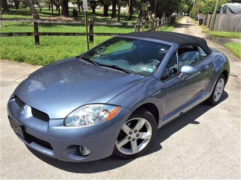 2007 Mitsubishi Eclipse Spyder for sale in Hollywood, FL