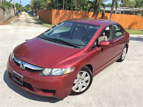 2010 Honda Civic for sale in Hollywood, FL