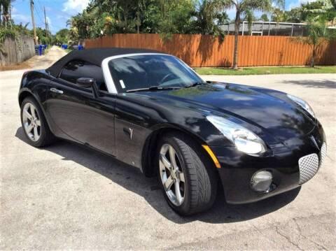 2007 Pontiac Solstice for sale in Hollywood, FL