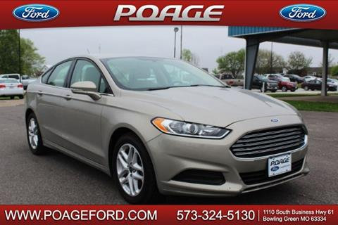 2016 Ford Fusion for sale in Bowling Green, MO