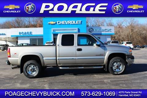 2001 GMC Sierra 2500HD for sale in Hannibal, MO