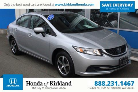 2015 Honda Civic for sale in Kirkland, WA
