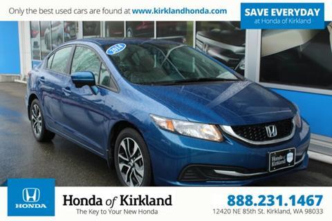 2014 Honda Civic for sale in Kirkland, WA