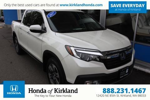 2017 Honda Ridgeline for sale in Kirkland, WA