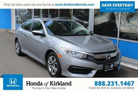 2016 Honda Civic for sale in Kirkland, WA