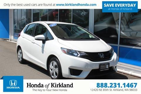 2016 Honda Fit for sale in Kirkland, WA