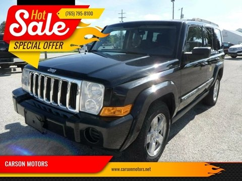 2007 Jeep Commander for sale in Cloverdale, IN