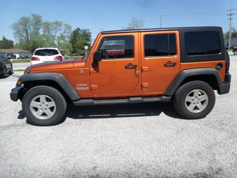 2011 Jeep Wrangler Unlimited for sale in Cloverdale, IN