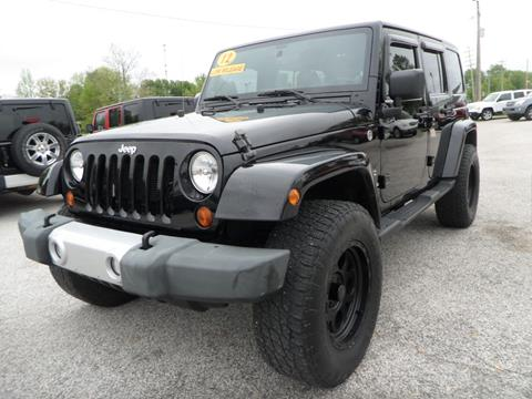 2012 Jeep Wrangler Unlimited for sale in Cloverdale, IN