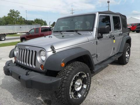2013 Jeep Wrangler Unlimited for sale in Cloverdale, IN