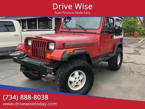 1988 Jeep Wrangler for sale in Wayne, MI