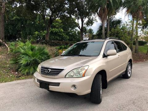 2007 Lexus RX 400h for sale in Hollywood, FL