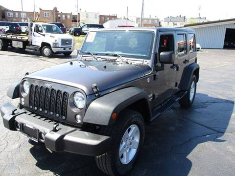 2016 Jeep Wrangler Unlimited for sale in Crystal Lake, IL