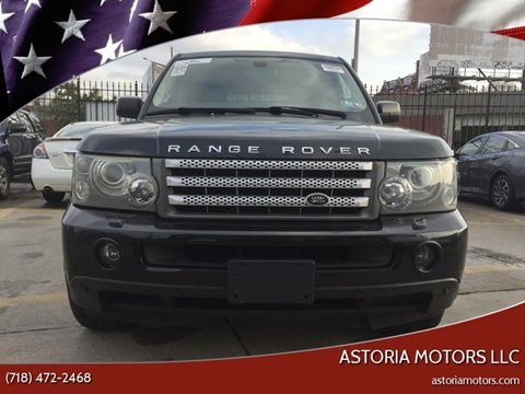 2008 Land Rover Range Rover Sport for sale at Astoria Motors LLC in Long Island City NY