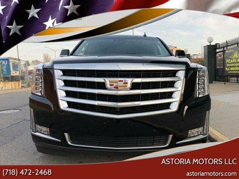 2017 Cadillac Escalade ESV for sale at Astoria Motors LLC in Long Island City NY