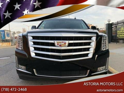 2017 Cadillac Escalade ESV for sale at Astoria Motors LLC in Long Island City NY