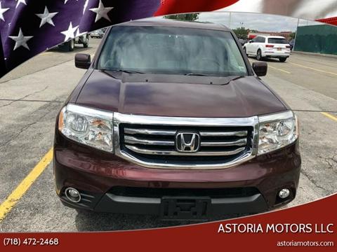 2013 Honda Pilot for sale at Astoria Motors LLC in Long Island City NY