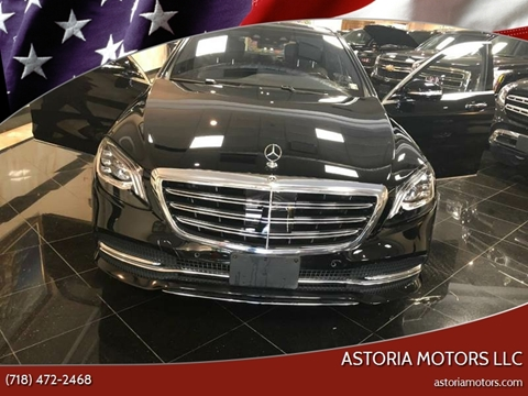 2018 Mercedes-Benz S-Class for sale at Astoria Motors LLC in Long Island City NY