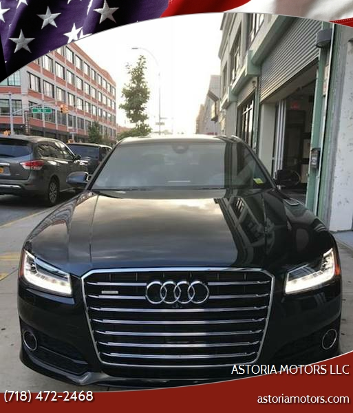 2016 Audi A8 L 4.0T Quattro Sport In Long Island City, NY