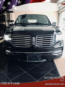 2017 Lincoln Navigator L for sale at Astoria Motors LLC in Long Island City NY