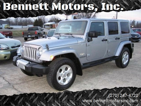2014 jeep wrangler for sale in kentucky. Black Bedroom Furniture Sets. Home Design Ideas