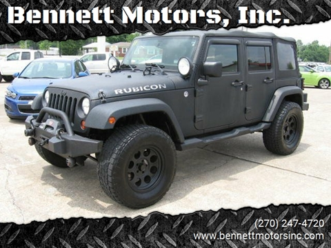 2011 Jeep Wrangler Unlimited for sale in Mayfield, KY