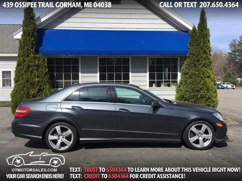 2010 Mercedes-Benz E-Class for sale in Gorham, ME
