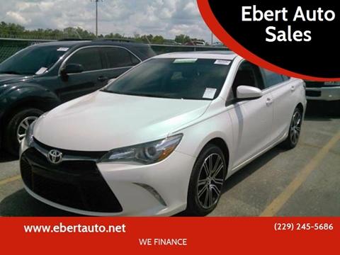 2016 Toyota Camry for sale at Ebert Auto Sales in Valdosta GA