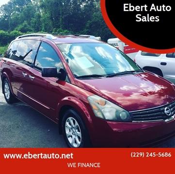 2008 Nissan Quest for sale at Ebert Auto Sales in Valdosta GA