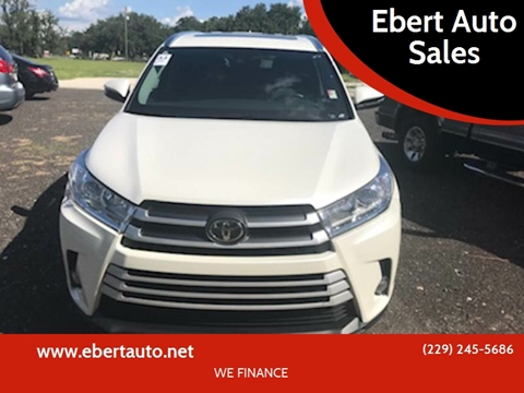 2017 Toyota Highlander for sale at Ebert Auto Sales in Valdosta GA