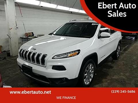 2015 Jeep Cherokee for sale at Ebert Auto Sales in Valdosta GA