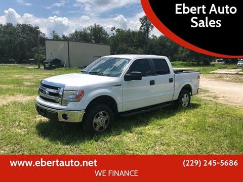 2013 Ford F-150 for sale at Ebert Auto Sales in Valdosta GA