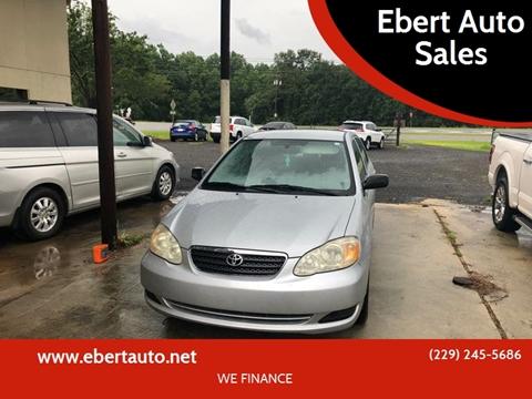 2007 Toyota Corolla for sale at Ebert Auto Sales in Valdosta GA