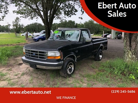 1995 Ford F-150 for sale at Ebert Auto Sales in Valdosta GA