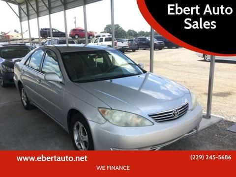2006 Toyota Camry for sale at Ebert Auto Sales in Valdosta GA