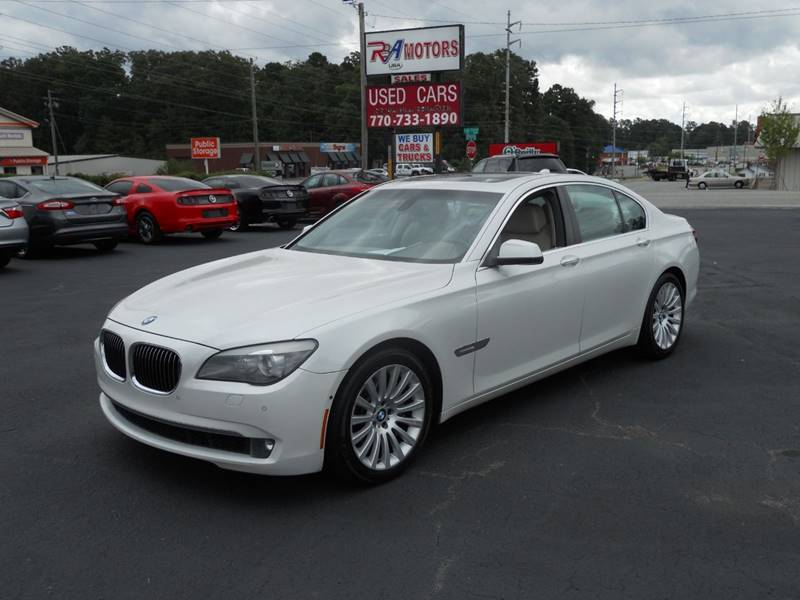 2009 BMW 7 Series for sale at R3A USA Motors in Lawrenceville GA